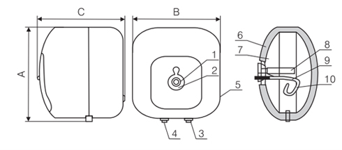 binh-nong-lanh-ferroli-cubo-15l