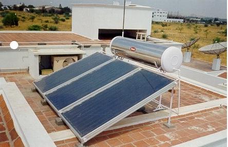 Bình nóng lạnh sử dụng năng lượng mặt trời tiết kiệm điện